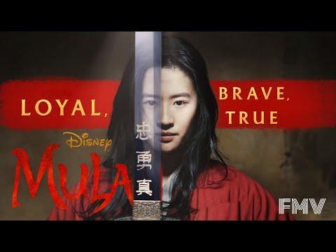 "Mulan – Loyal Brave True – Christina Aguilera – (From ""Mulan""/FMV)"