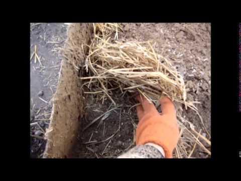 видео: глина и солома