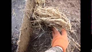 глина и солома(утепление соломой и глиной., 2014-05-01T20:18:25.000Z)