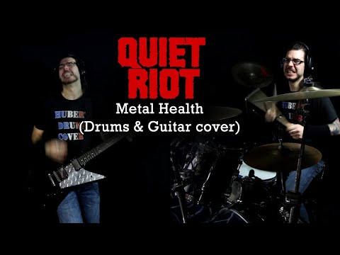 Quiet Riot - Metal Health (Drums & Guitar cover)