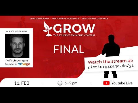 Finalist bei GROW 2020/21