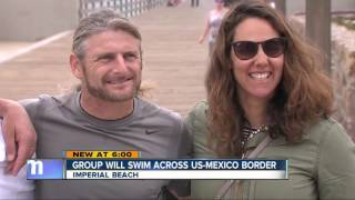 International swimmers to swim from Imperial Beach to Tijuana for migrants rights