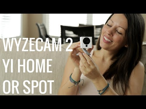 Wyze Cam 2, Spot, Yi Home, And Ezviz Mini 360 Plus Compared