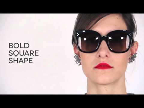 Celine CL41805 New Audrey Sunglasses Review | SmartBuyGlasses