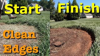 Lawn Edging - DIY Lawn Edging With a Shovel