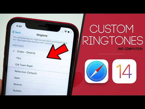 IOS 13 - How To Set ANY Song As RINGTONE On IPhone (No Computer)