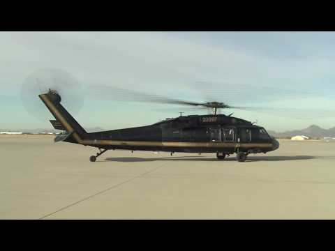 Customs and Border Patrol Blackhawk Helicopter at Davis-Monthan AFB