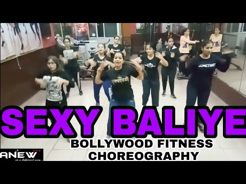 Sexy Baliye || Bollywood Zumba Choreography || Anew Fitness Center And Dance Academy
