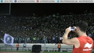 Curva Sud Magana : Ambiance & Feux d'artifice - Raja vs OGC Nice (Ultras Eagles) 2017 Video