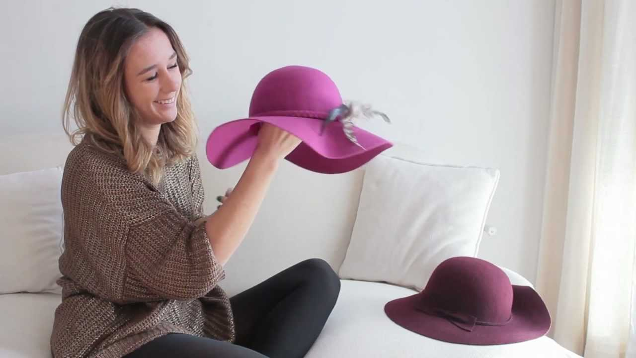 6a5b936059f57 MODA - Tendencias en sombreros - YouTube