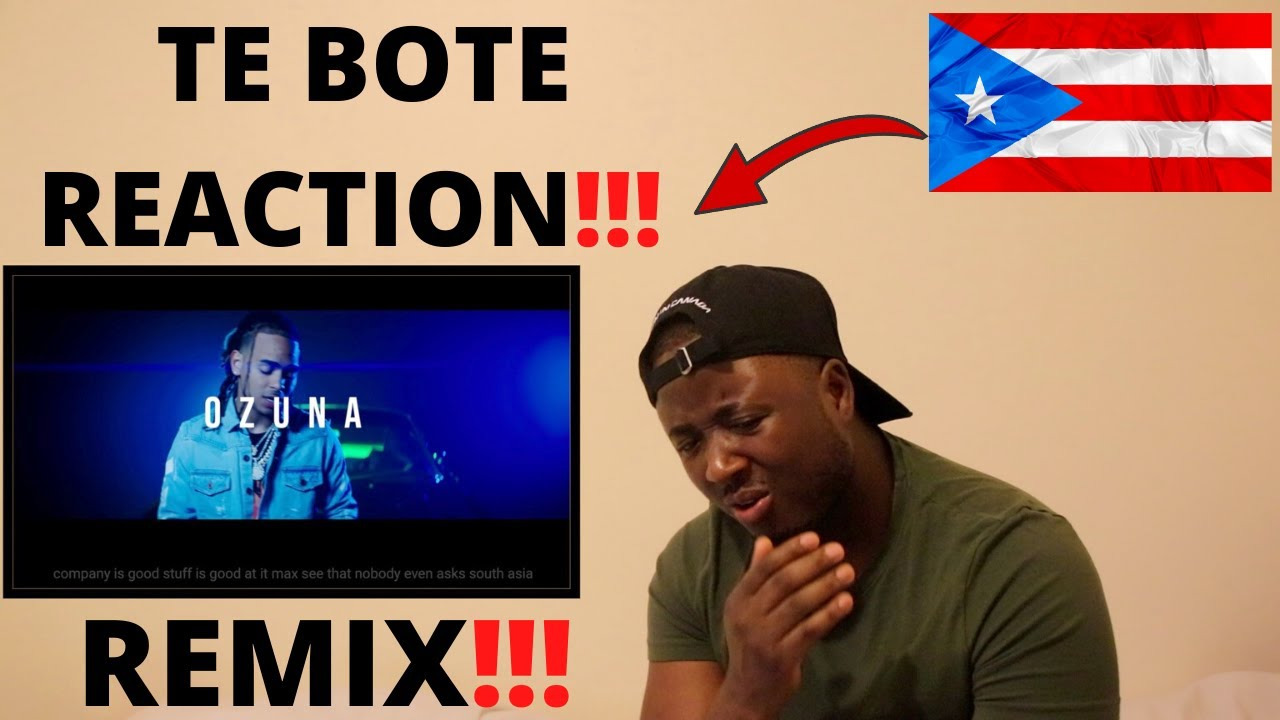 Download FIRST TIME REACTION TO LATIN TRAP  - Te Bote Remix Reaction  🔥🔥 (Ozuna, Bad Bunny and more)