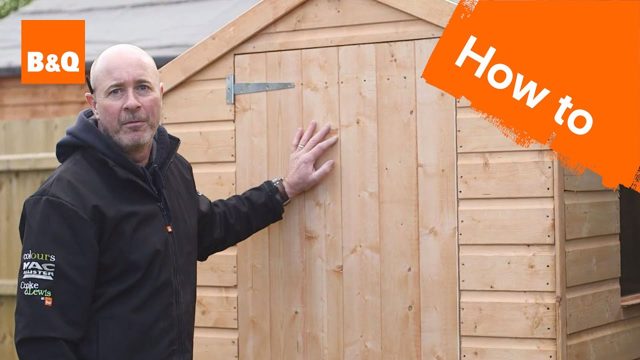 How To Build A Shed Youtube