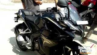 Kawasaki Pulsar 200 SS In Golden-Black Spotted In Indonesia