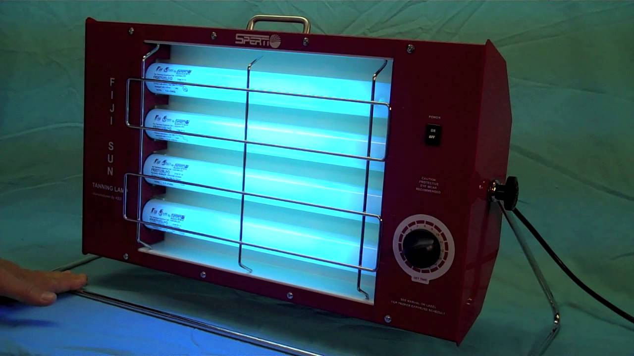 The Fiji Sun Tanning Lamp from Sperti Sunlamps - YouTube