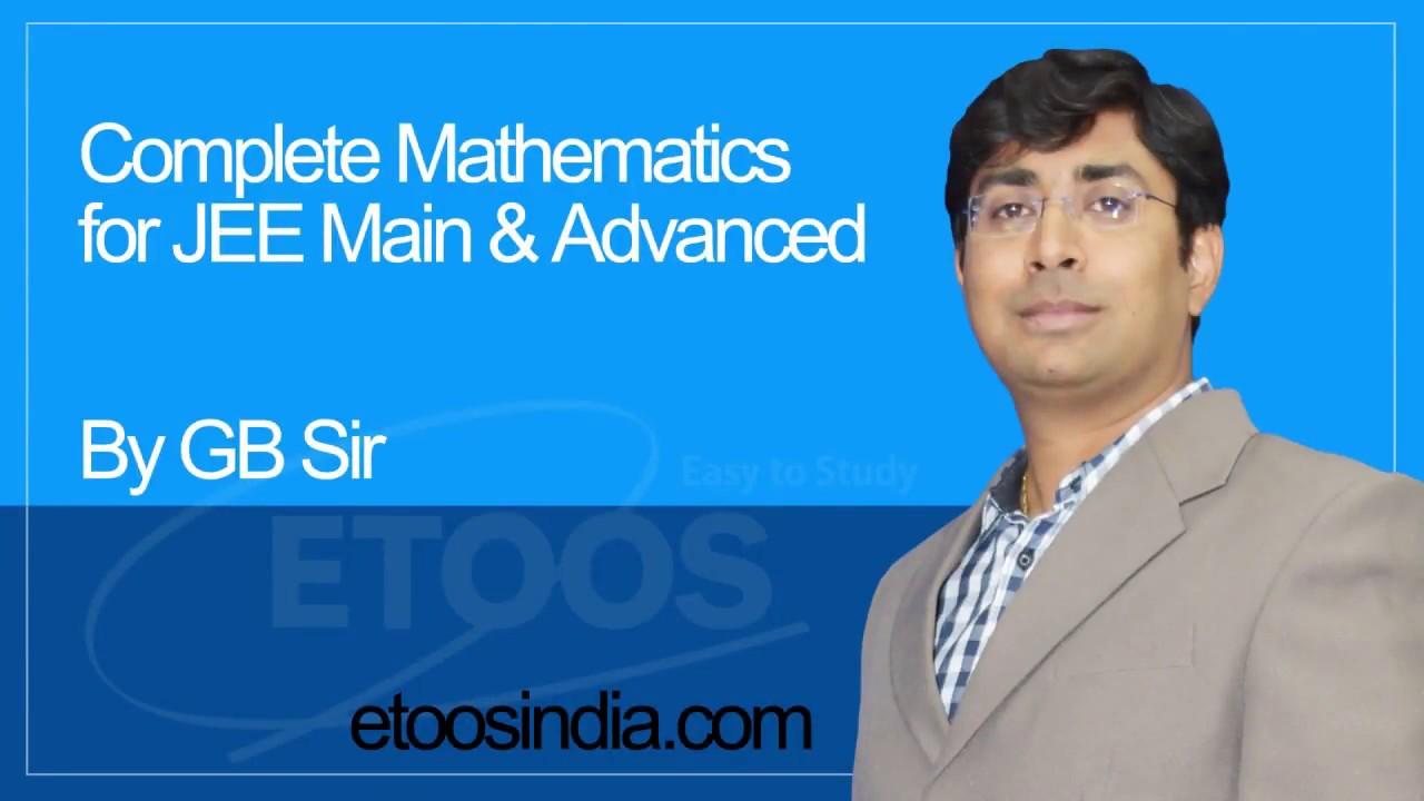 Trick of Function | IIT JEE Main & Advanced | Maths by Gavesh Bhardwaj (GB)  Sir (ETOOSINDIA COM)
