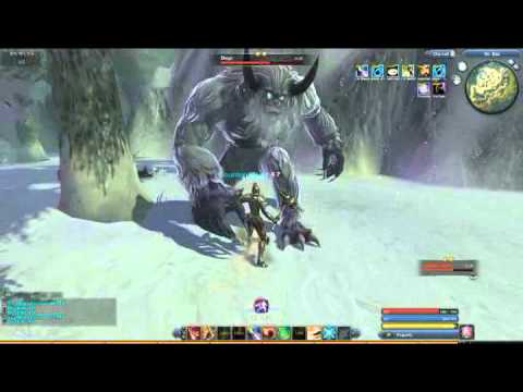Raiderz  gameplay Diago