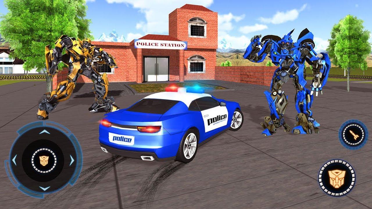Robot Biến Hình Ô tô Chiến Đấu | Kiều Hương | Game Vui