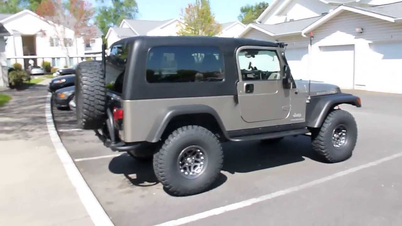 2006 jeep wrangler rubicon unlimited lj youtube. Black Bedroom Furniture Sets. Home Design Ideas