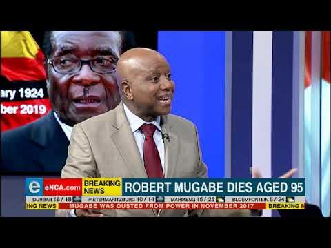 REACTION   Robert Mugabe's death