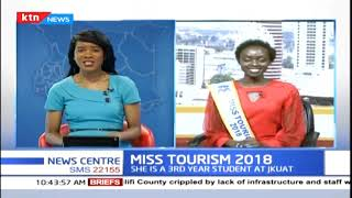 Sarah Pkyach crowed Miss Tourism 2018