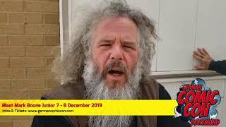 Mark Boone Junior @ German Comic Con Dortmund 2019