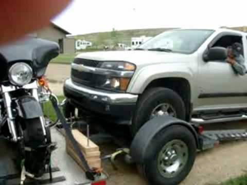 Best way to tow your car and motorcycle behind your