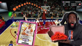 EVERY 3 POINTER BEN SIMMONS MISS I EAT HOTTEST WING CHALLENGE!