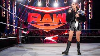 Becky Lynch Entrance on Raw Raw October 4 2021 HD