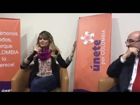 Conversatorio con Gloria Alvarez EN VIVO - Bogotá Sep 2017