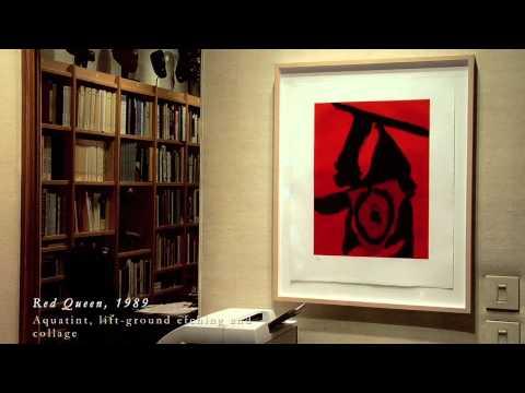 Robert Motherwell: Elegies, Gestures and Opens at Leslie Sacks Fine Art, Brentwood