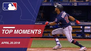 Top 10 Moments around MLB: April 20, 2018