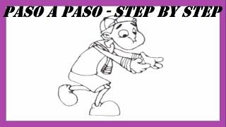Como dibujar a Quico paso a paso l How to draw Quico step by step l El Chavo del 8