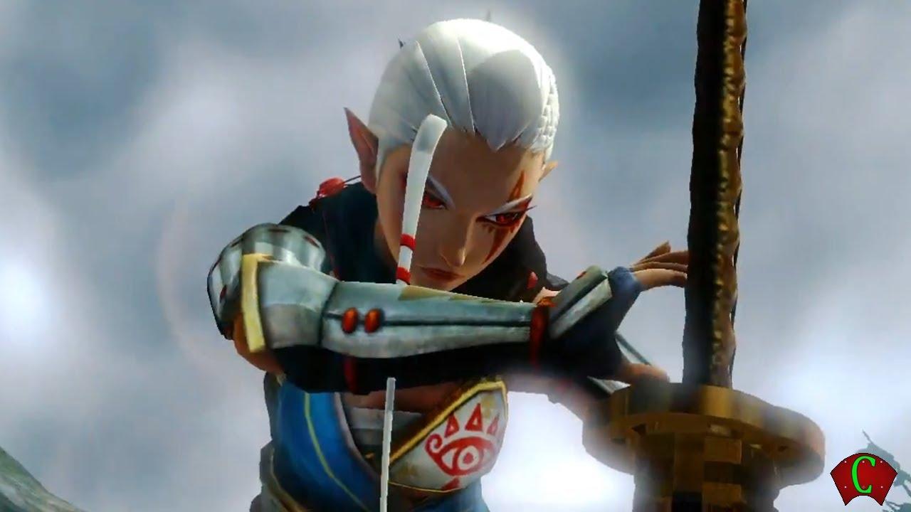 Zelda Hyrule Warriors Gameplay Trailer 3 Impa Trailer Wii U Hd A New Character Youtube