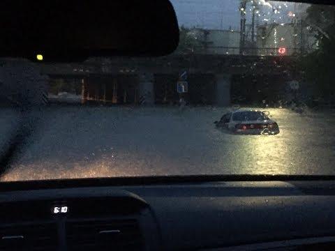 Уссурийск - Потоп 07 августа 2017. Все видео в одном
