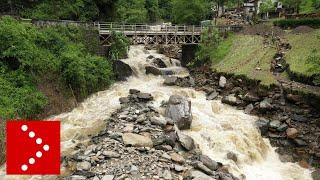 Alluvione a Pagnona: video dal drone