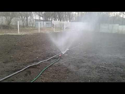вечная поливалка из квадрат для огорода своими руками