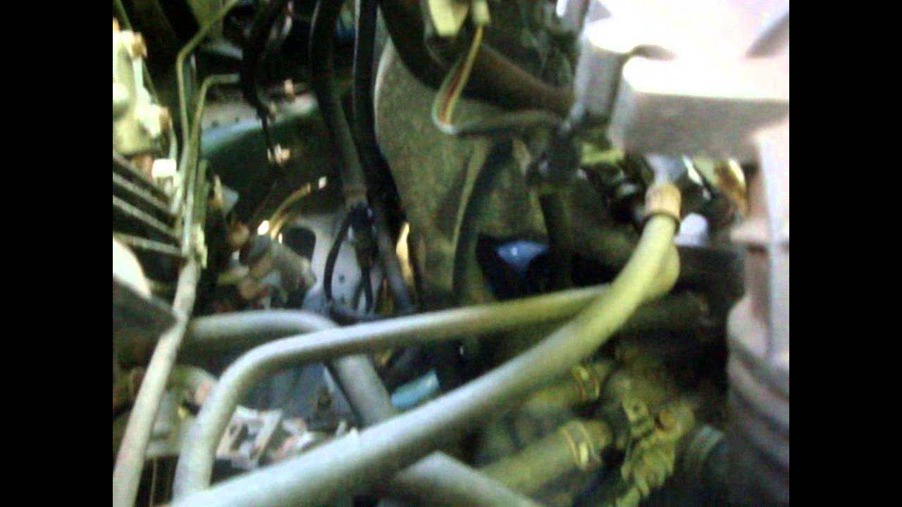 change fuel filter honda cr v [ 1280 x 720 Pixel ]