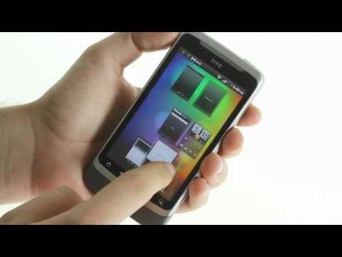 HTC Desire Z unboxing