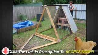 Chicken Coop Plans For Bantams