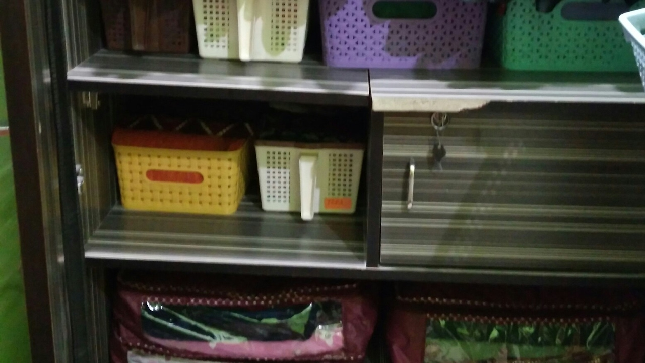 How to Organize Saree Cabinet - Konmari Method Saree ...