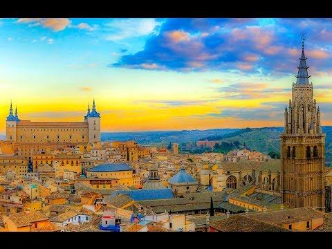 A Walk Around Toledo, Spain