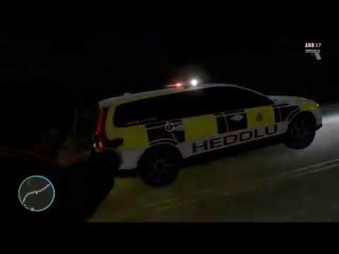 GTA IV - WIP Heddlu Gwent Police Skin - Volvo V70