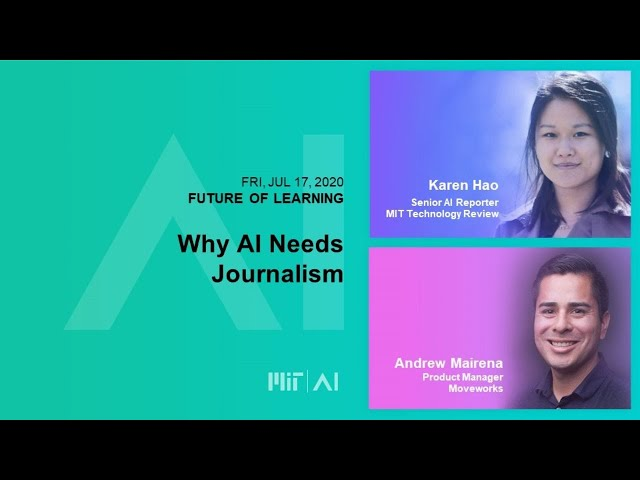 11am:  Why AI Needs Journalism
