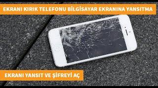 Ekranı kırık ve şifreli telefonu nasıl kullanabilirim ?  Ekranı kırık telefondaki bilgileri alma