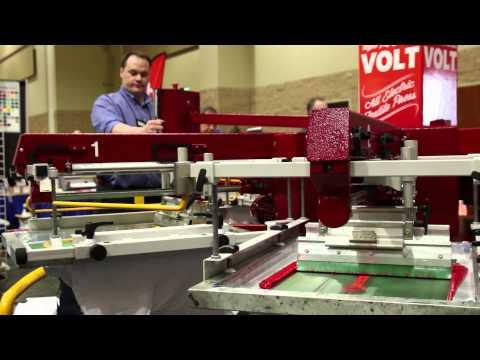 VOLT S Electric Screen Printing Press