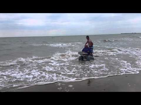 Rosslare beach wheelchair