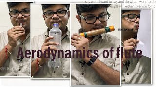 Lesson 05 | How to blow into the flute | Aerodynamic of flut...