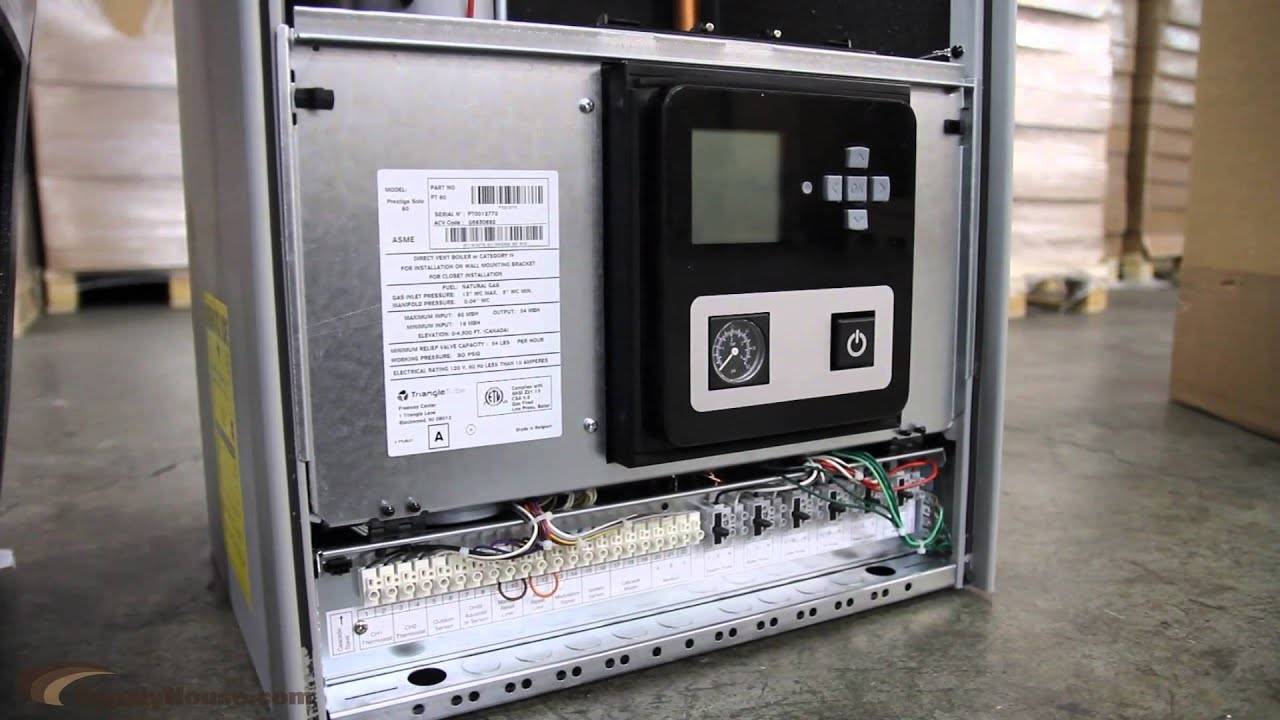 triangle tube prestige solo boilers with trimax control