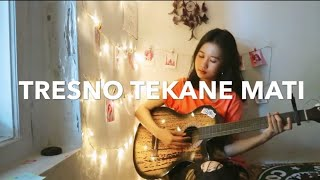 TRESNO TEKANE MATI - BLACK SKIN BOYS ( COVER WITH LIRIK ) STORY WA
