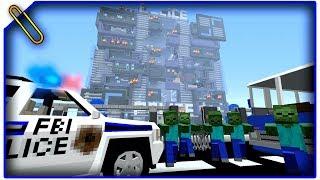 Департамент ФБР! База ФБР! [ДЕНЬ 5] Зомби Апокалипсис в Майнкрафт! - (Minecraft - Сериал)